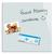 BE BOARD Tableau en verre trempé Blanc, magnétique, aimant et fixation fournie - Format : L45 x H45 cm