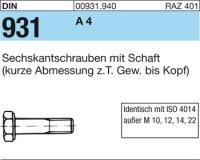 DIN931 M12x380