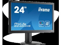 "ProLite B2480HS-B2, 24"", non-touch, widescreen, TFT incl.: cable (DVI, Audio), power cable, QSG 19-24"""