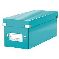 Click /& Store Mit Deckel Pink Leitz CD Aufbewahrungsbox 60410023