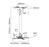 NewStar beamer plafondsteun, BEAMER-C100SILVER