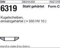 Kugelscheiben C21x36x6,3