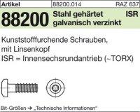 Schrauben für Kunstst. 3,5x8-T10