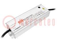 Alimentatore: a impulsi; LED; 200W; 71÷143VDC; 700÷1400mA; IP65