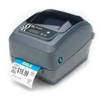 Zebra GX420t labelprinter Direct thermisch/Thermische overdracht 203 x 203 DPI Bedraad