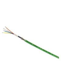 SIMATIC NET, IE FC TP Trailing Cable 2x2 (PROFINET TYPE C), TP INSTALLATION CABLE FOR CONNECTION TO FC OUTLET RJ 45, F. festooning, 4-WIRE, SHIELDED, CAT. 5, SOLD BY THE METER (...