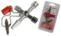 Profi-Key, mit Heizungsentlüftungs-Schlüssel, 61x90 mm