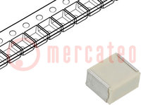 Condensator: polyester; auto-elektronica; 1uF; 30VAC; 50VDC; ±10%