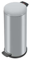 ProfiLine Solid 20 Tret-Abfallsammler S, silber verzinkt