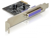 PCI Express Card zu 1x Parallel, Delock® [89219]