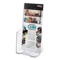 DEFLECTO Porte brochure A4 vertical une case 1/3A4
