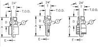 AEROQUIP 1S12EK8