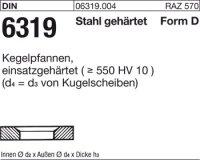 Kegelpfannen D19x30x6,2