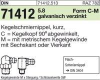Kegelschmiernippel CM6x1SW9