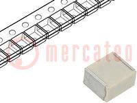 Condensador: de poliéster; electrónica de automoción; 1uF; 30VCA