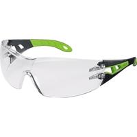 uvex Schutzbrille pheos 9192 225 HC/AF schwarz/grün/farblos
