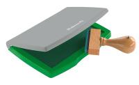 Stempelkissen 2E, getränkt, 110 x 70 mm, grün