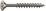 Dresselh. 4003530092022 6 x 100 SPAX-Schrauben mit T-Star plusSenkkopf, Teilgewi