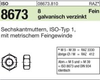 Sechskantmuttern M12x1,5