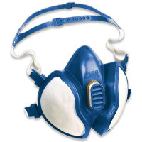 Atemschutzmaske nach EN 405, 3M Halbmaske, Schutzstufe FFABEK1P3D