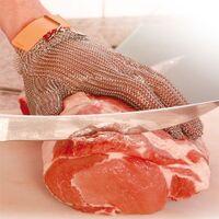 Schnittschutz und Stechschutzhandschuh Kettenhandschuh, ohne Stulpe, Größe M, 1 Stück
