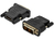 DVI Adp. DVI(18+1)-HDMI type AM/F DVI-D single link HDMI 13compatible Adapters