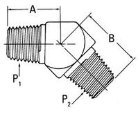 AEROQUIP 2247-6-6S