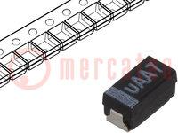 Kondensator: Tantal-Polymer; 33uF; 6,3VDC; Geh: A; 1206; ESR:70mΩ
