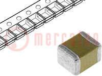Kondensator: Keramik; MLCC; 22uF; 25V; X5R; ±10%; SMD; 1210