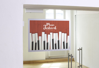 Durable Duraframe Poster A2 magnetic frame Silver