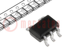 IC: digital; NOR; Channels:1; Inputs:2; SMD; SC70-5; 1.65÷5.5VDC