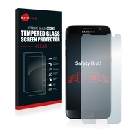 Savvies® Xtreme Glass HD33 Clear Panzerglasfolie für Samsung Galaxy S7