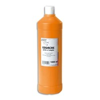 ART PLUS Gouache prête à l'emploi 1 litre Orange