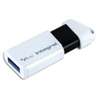 INTEGRAL Cl� USB 3.0 256Go Turbo Blanche INFD256GBTURBWH3.0/V2