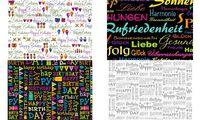 """SUSY CARD Geschenkpapier """"Birthday"""", auf Rolle (40028637)"""