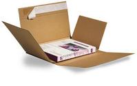 Postverpackung Drehfix, Abm (LxBxH): 260x185x10-70mm, Qual. 1.20 B