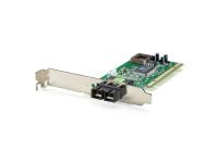 LevelOne Fast Ethernet Fiber PCI Network Card, 1 x SC Multi-Mode Fiber