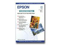 Epson Archival Matte Paper, DIN A3, 192g/m², 50 Blatt