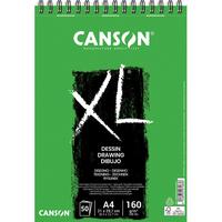 CANSON Bloc de 50 feuilles de papier dessin XL DESSIN 10 160g grand format A4