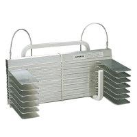 Rettungsleiter KF-Kompakt A12, Stahlseil+Alusprossen, Länge 12m, Stockwerke 4, Gewicht 8,9kg