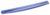 Fellowes Crystal Gel toetsenbord polssteun blauw