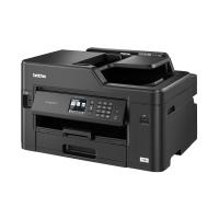 Brother 5 in 1 - Netwerk A3/A4 kleurenprinter - flatbed kleurencopier - kleurenscanner - kleurenfax - interne duplexunit & Wireless