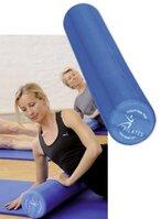 SISSEL Pilates Roller Pro 15x90cm inkl. Übungsposter,blau