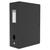 ELBA Boîte de classement Memphis, dos de 10 cm, en polypropylène 7/10e coloris noir