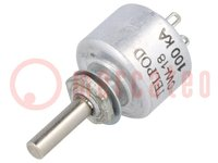Potentiometer: axial; 1-Drehung; 100kΩ; 1W; ±20%; 4mm; linear; THT