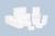 Frascos con tapa encajable de polietileno (PE)