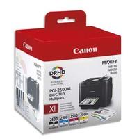 CANON Multipack 4 couleurs Jet d'encre PGI2500XL 9254B004
