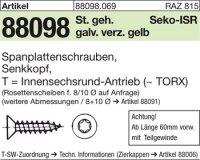 Spanplattenschr., Seko 4,5x70/42