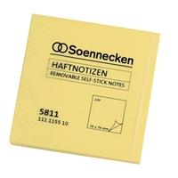 Soennecken Haftnotiz 5811 75x75mm 100Blatt gelb