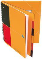 Oxford Organiserbook International, Optik Paper 90gqm, A4+, 6mm liniert, 90